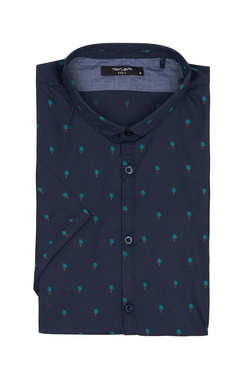 Chemise manches courtes TEDDY SMITH 10713771D Bleu marine