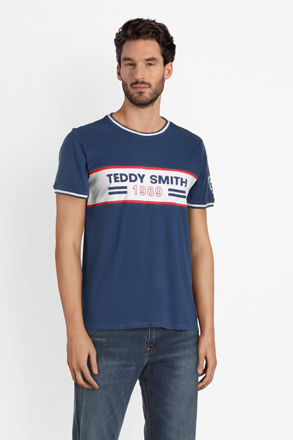 Tee-shirt logo TEDDY SMITH