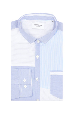 Chemise manches longues TEDDY SMITH 10713528D Bleu