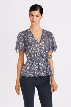 Blouse THE KORNER 20119186 Bleu