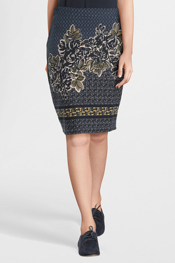 Jupe THOUGHT WWB3786 ORSINO SKIRT Bleu marine