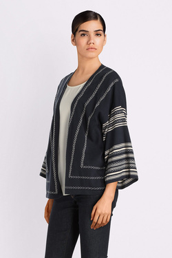 Gilet THOUGHT WWT3719 MEREWEN CARDIGAN Bleu marine