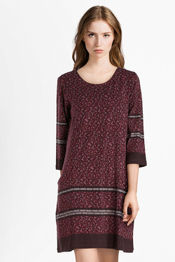 Robe THOUGHT WWD3799 TANGIERS TUNIC Violet prune