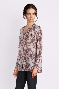Chemise manches longues THOUGHT WWT3964 PAVANNE BLOUSE Ecru