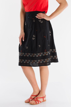 Jupe THOUGHT WWB3895 PAPILO SKIRT Noir