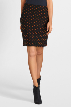 Jupe THOUGHT WWB3909 SPOT SKIRT Noir