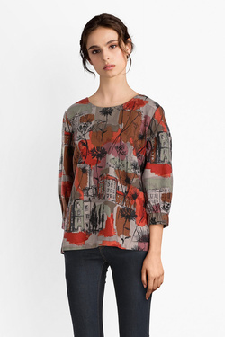 Blouse THOUGHT WWT3892 GLASGOW TOP Orange