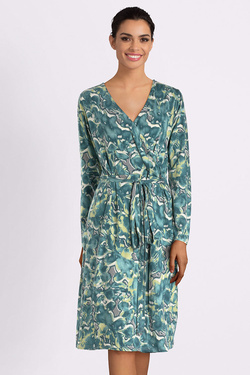 Robe THOUGHT WSD4007EMMELINE DRESS Vert