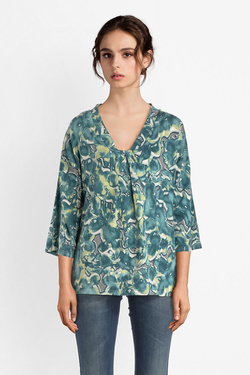 Blouse THOUGHT WST400 EMMELINE  TOP Vert