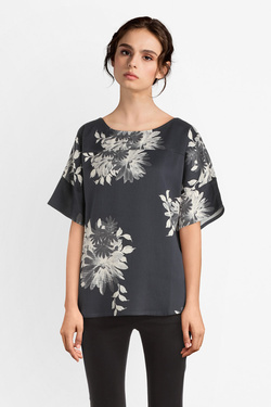 Blouse THOUGHT WST4008 PATRICE TOP Noir