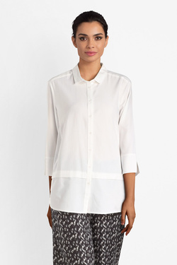 Chemise manches longues THOUGHT WST4024 QUINN SHIRT Blanc