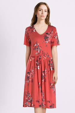 Robe THOUGHT WSD4159  CASSIA DRESS Rose