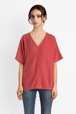 Pull THOUGHT WST4135 LANTANA TOP Rouge