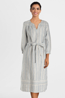 Robe THOUGHT WSD4165 LUIS DRESS Ecru