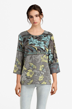 Blouse THOUGHT WSD4014 LILLY NOUVEAU TOP Gris