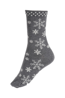 Chaussettes THOUGHT SNOWFLAKE Gris