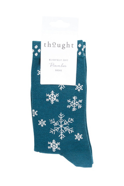 Chaussettes THOUGHT SNOWFLAKE Bleu