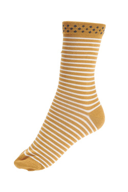 Chaussettes THOUGHT HEDDA STRIPE Or