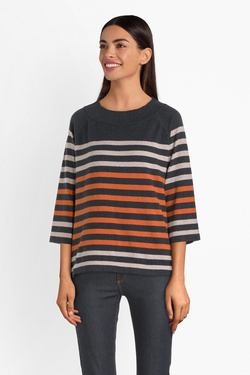 Pull THOUGHT WWT4325 SAIL LA VIE JUMPER Orange