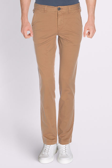 PANTALON COUPE SLACK EN COTON STRETCH TIBET
