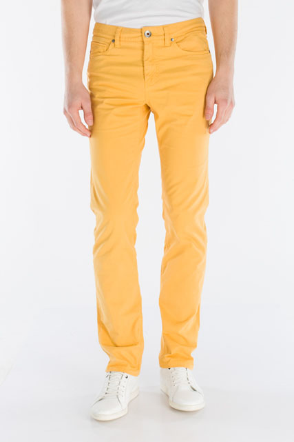 Pantalon 5 poches en coton stretch