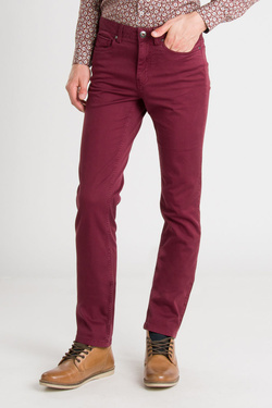 Pantalon TIBET 54TI1PS503 Rouge bordeaux