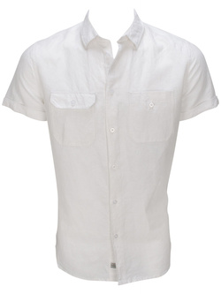 Chemise manches courtes TIBET TI SCOUT Blanc