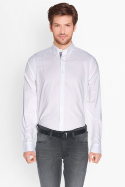 Chemise manches longues TOMMY HILFIGER MW0MW01515 Blanc