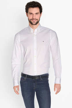Chemise manches longues TOMMY HILFIGER 0867894704 Blanc