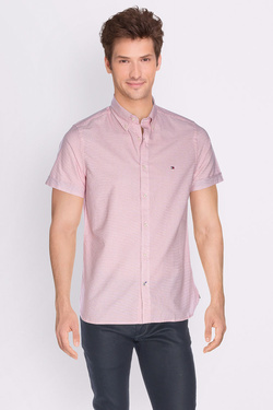 Chemise manches courtes TOMMY HILFIGER MW0MW00793 Rouge