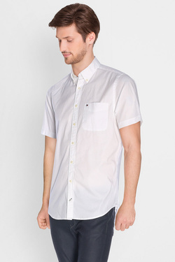 Chemise manches courtes TOMMY HILFIGER MW0MW00847 Blanc