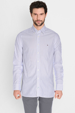 TOMMY HILFIGER - Chemise manches longuesMW0MW01166Blanc