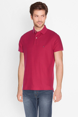 Polo TOMMY HILFIGER MW0MW00140 Rouge