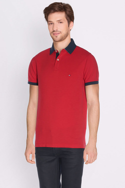 Polo TOMMY HILFIGER MW0MW00688 Rouge