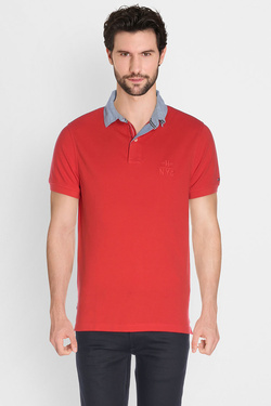 TOMMY HILFIGER - PoloMW0MW00733Rouge