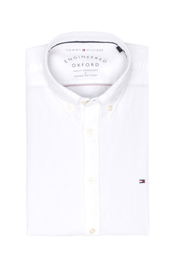 Chemise manches longues TOMMY HILFIGER MW0MW03015 Blanc