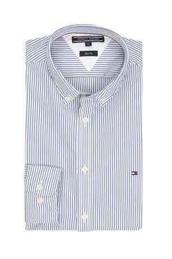 Chemise manches longues TOMMY HILFIGER MW0MW03102 Blanc