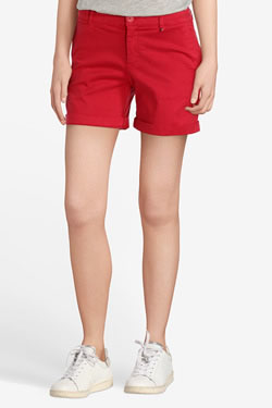 Short TOMMY HILFIGER 04252 Rouge