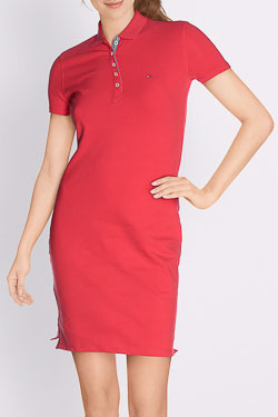 Robe TOMMY HILFIGER 04207 Rouge