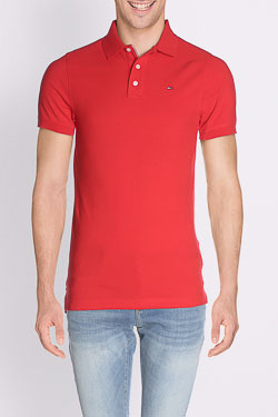 Polo TOMMY HILFIGER 00488 Rouge