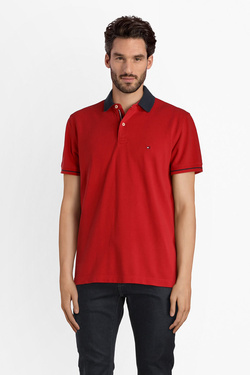 Polo TOMMY HILFIGER MW0MW05116 Rouge