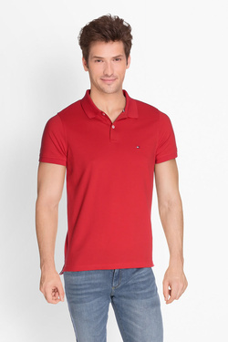 Polo TOMMY HILFIGER MW0MW05150 Rouge