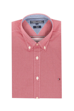 Chemise manches longues TOMMY HILFIGER MW0MW06080 Rouge