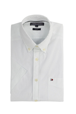 Chemise manches courtes TOMMY HILFIGER MW0MW05980 Blanc