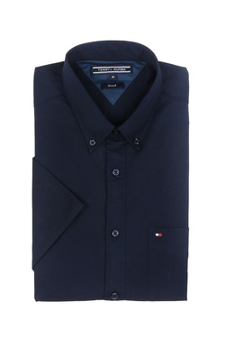 Chemise manches courtes TOMMY HILFIGER MW0MW05980 Bleu marine