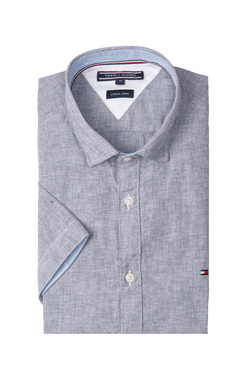 Chemise manches courtes TOMMY HILFIGER MW0MW06024 Bleu marine