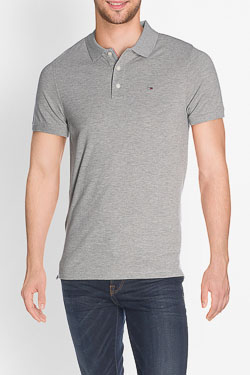 Polo TOMMY HILFIGER DM0DM04266 Gris clair