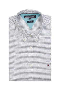 Chemise manches longues TOMMY HILFIGER MW0MW07684 Blanc