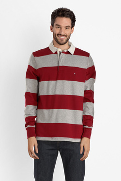 Polo TOMMY HILFIGER MW0MW07971 Rouge bordeaux