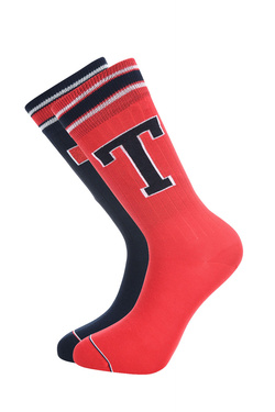 Chaussettes TOMMY HILFIGER 472021001 Rouge